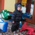 zima w żłobku